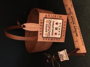 Alphabet Sampler Pallet